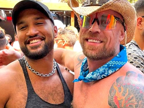 Mr Leather Queen Open Air Leather party San Francisco