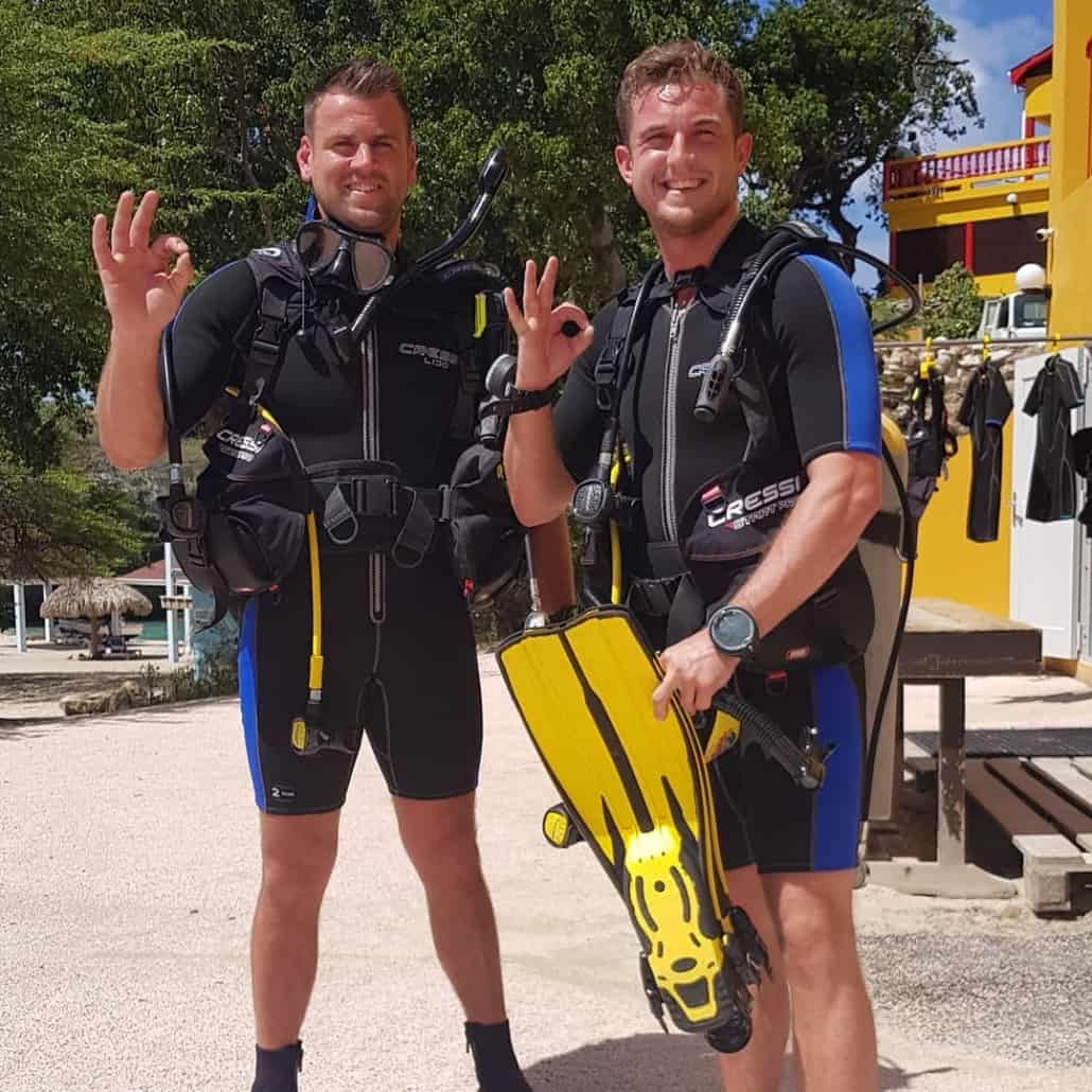 Diving Lessons Curacao